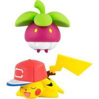 Mini Figura Articulada Pokémon Frubberl Pikachu Sunny - Unissex-Incolor