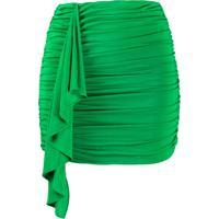 P.A.R.O.S.H. Minissaia Rava Com Franzido - Verde
