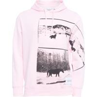 Blusa Masculina De Moletom Andy Warhol - Rosa
