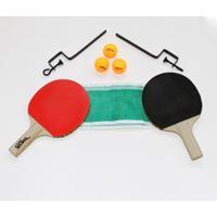 Kit Suporte Para Tênis De Mesa C/ 2 Raquetes E Bolas Bel Sports