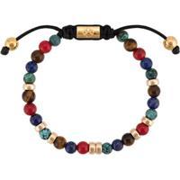 Nialaya Jewelry Pulseira De Jade Com Contas - Estampado