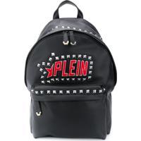Philipp Plein Plein Star Studded Backpack - Preto