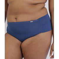 Kit De 2 Calcinhas Love Secret Plus Size Em Modal Caleçon Com Lateral Dupla Multicor