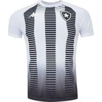 Camisa Pré-Jogo Do Botafogo 2019 Kappa - Masculina - Branco