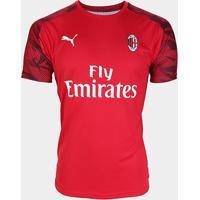Camisa Milan 19/20 Treino Puma Masculina - Masculino