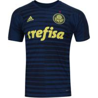 Camisa De Goleiro Do Palmeiras I 2018 Adidas - Masculina - Azul Esc/Azul