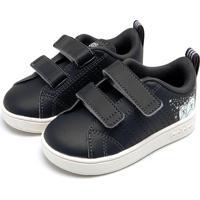 Tênis Adidas Menina Vs Adv Cl Cmf Inf Preto
