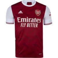 Camisa Arsenal I 20/21 Adidas - Masculina - Vinho