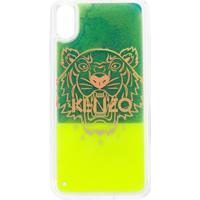 Kenzo Iphone Xs Max Tiger Case - Verde