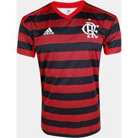 Camisa Flamengo I 19/20 S/Nº Torcedor Adidas Masculina - Masculino
