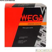 Filtro De Óleo - Wega Filtros - Palio 1.0 16V Fire 2000 (Elx/Ex) Gasolina Mecânico - Universal - Cada (Unidade) - Wuni0005