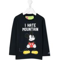 Mc2 Saint Barth Kids Mickey Mouse Print Sweatshirt - Azul