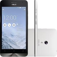 "Smartphone Zenfone 5 Asus A501Cg-2B491Bra - 8Gb - Ram 2Gb - Intel 1.2 Ghz- Dual Chip - Tela 5"" - Android 4.4 - Branco"