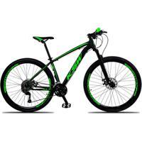Bicicleta Aro 29 Ksw Xlt 27V Câmbios Shimano Altus M2000 Freio A Disco Mecânico Com Suspensão - Unissex