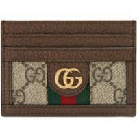 Gucci Porta-Cartões 'Ophidia Gg' - Neutro