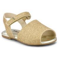Sandália Infantil Bibi Mini Me Dourada De Brilho - 1102167