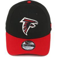 Boné New Era Snapback Atlanta Falcons Preto Vermelho b2ff15ff70b