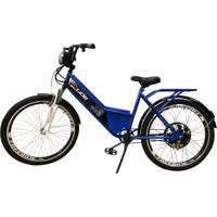 Bicicleta Elétrica Duos Confort Full 800W 48V 15Ah Cor Azul