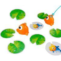 Pesca Divertida Em Relevo - Verde & Laranja- 27X27X4Dican