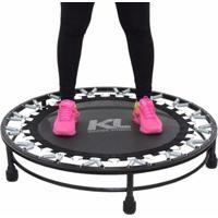 Mini Cama Elastica Trampolim Jump Profissional 150 Kg E Dvd - Unissex