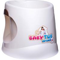 Banheira Babytub Ofurô 1 A 6 Anos Pérola Branco