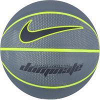 Bola De Basquete Nike Dominate 8P Bb0635 - Cinza Escuro/Preto