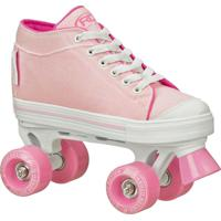Patins Roller Derby Quad Zinger Girl Rosa