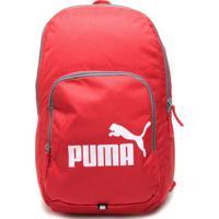 Mochila Puma Phase Vermelha/Preta