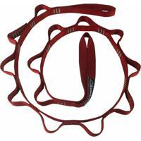 Fita Auto Segurança 1,2 M Daisy Chain Trad Vermelho Conquista Montanhismo 4147