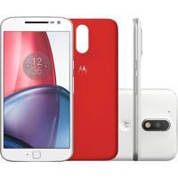 Smartphone Motorola Moto G4 Plus Xt1641 Desbloqueado Branco