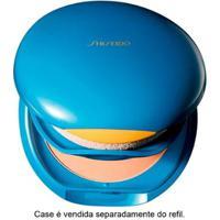 Base Facial Shiseido Refil - Uv Protective Compact Foundation Fps35 - Dark Ivory - Sp70 - Feminino-Incolor