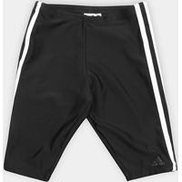 Short Adidas Infantil Fitness 3 Stripes Jammer Boys - Masculino