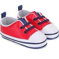 Tênis Infantil Pimpolho Star Masculino - Masculino-Vermelho