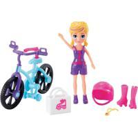 Polly Pocket Aventura Em Bicicleta - Mattel - Kanui