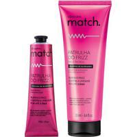 Combo Match Patrulha Do Frizz: Shampoo, 250Ml + Máscara Capilar, 100G