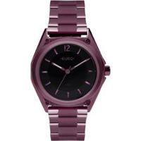 Relógio Euro Color Mix Geometric Feminino - Feminino-Roxo