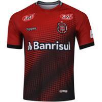 ... Camisa Do Brasil De Pelotas I 2018 Topper - Masculina - Vermelho Preto 3e10418e9f292