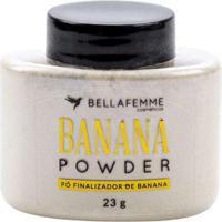 Pó Facial Banana Powder Bella Femme Único Multicor