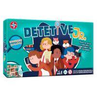Jogo De Tabuleiro Investigação Detetive Jr Estrela 5+