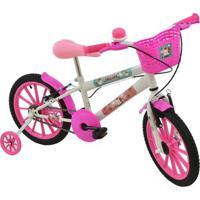 Bicicleta Unicórnio Polikids Aro 16 Infantil - Feminino