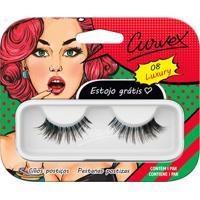 Cílios Postiços - Curvex - Linha Luxury - 08 - Preto