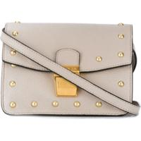 Escada Sport Studded Crossbody Bag - Cinza