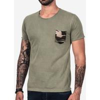 Camiseta Camuflada Estonada 101657