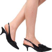 Sapato Schutz Laço Preto