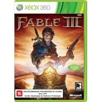 Jogo Fable Iii Para Xbox 360 (X360) - Microsoft