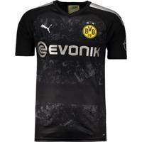 Camisa Puma Borussia Dortmund Away 2020 Masculina - Masculino