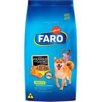 Ração Para Cães Faro Raças Médias E Grandes Sabor Frango Com Legumes Ao Vapor 1Kg