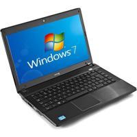 "Notebook Cce Chromo-535P - Preto - Intel Core I5-2410M - Ram 3Gb - Hd 500Gb - Tela 14"" - Windows 7"
