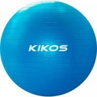 Bola Suíça 65Cm Fit Ball Kikos - Azul