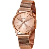 Relógio Lince Urban Lrr4627Lr1Rx Feminino - Feminino-Dourado
